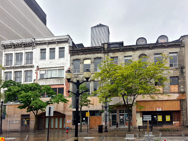 18-28 King Street East, vacant since 2012 (RTH file photo)