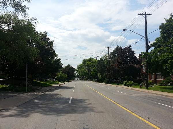 Aberdeen Avenue during Beckett Drive closure