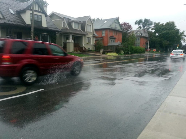 Aberdeen Avenue on a rainy day (RTH file photo)