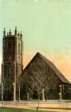 All Saints Church in 1875