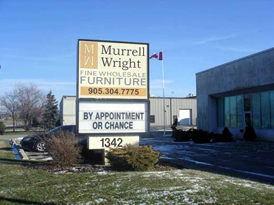 Murrell Wright Fine Wholesale Furniture: By Appointment or Chance