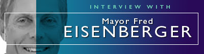 Interview with Fred Eisenberger