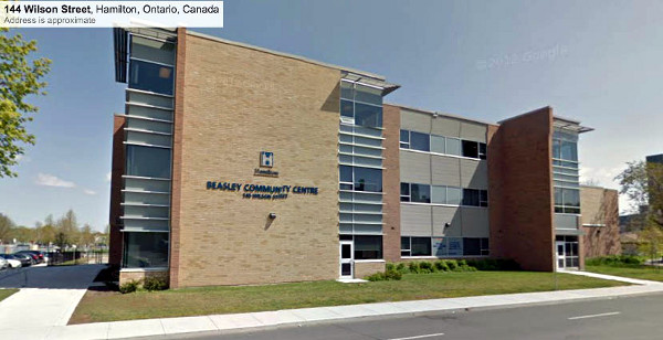 The new Beasley Community Centre, attached to Dr. Davey Elementary School (Image Credit: Google Street View)