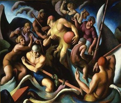 Thomas Hart Benton, People of Chilmark