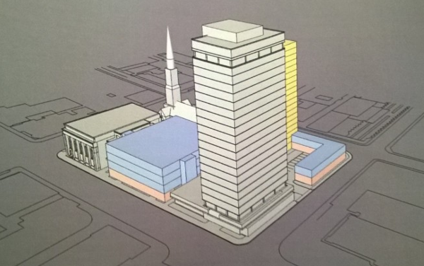 Proposed development on 21 Main Street West