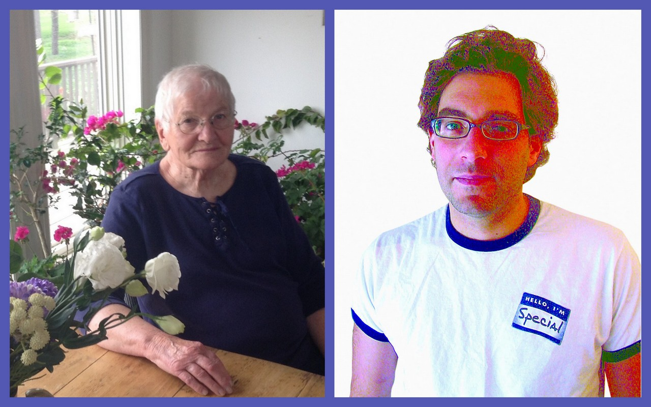 Sybil Rampen, 84, and Hal Nziedvicki, 44