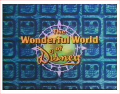 The Wonderful World of Disney logo, circa 1972 (Fair Use).