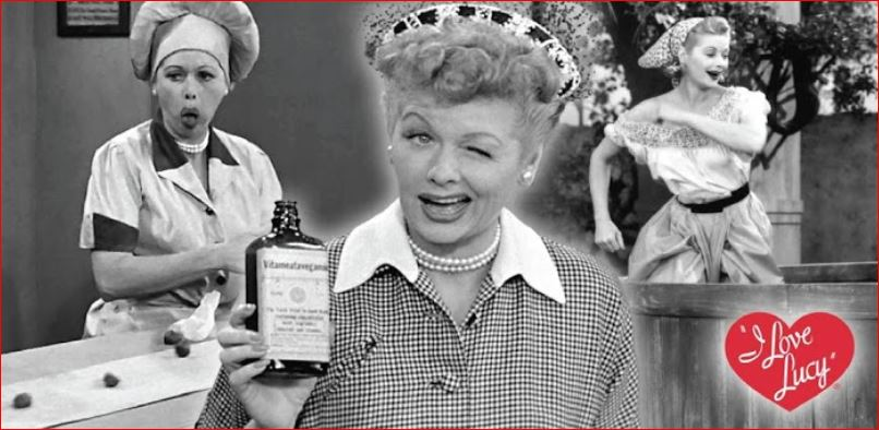 I Love Lucy. Initially aired from 1951 to 1960, a 1st gen program