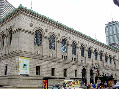Boston Public Library: 'The Commonwealth Requires the Education of the People as the Safeguard of Order and Liberty'