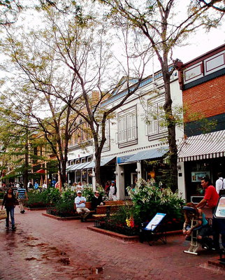Boulder, Pearl Street and surrounding attractions