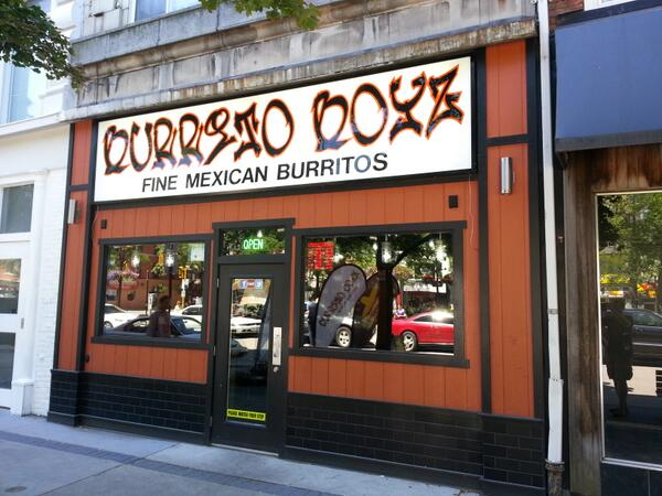 Burrito Boyz facade in Gore Park (RTH file photo)
