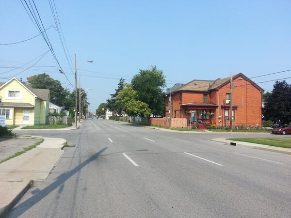 Wilson Street west of Wentworth (RTH file photo)