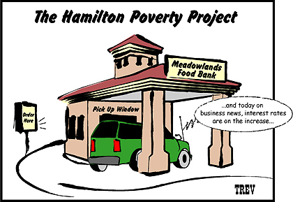 Editorial Cartoon: The Hamilton Poverty Project