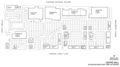 Centre Mall Big Box Redesign Plans