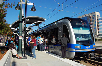 Charlotte Blue Line LRT: 'The Lynx'