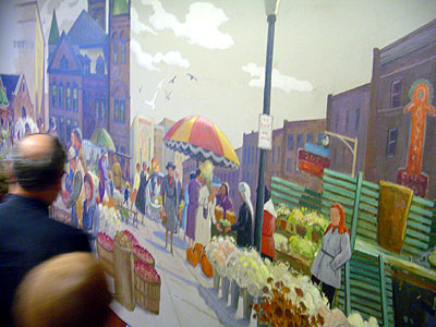 Old City Hall, Hamilton Farmers Market mural