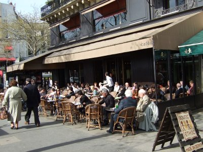 Paris Street Cafe (Image Source: University of Wisconsin-Madison)
