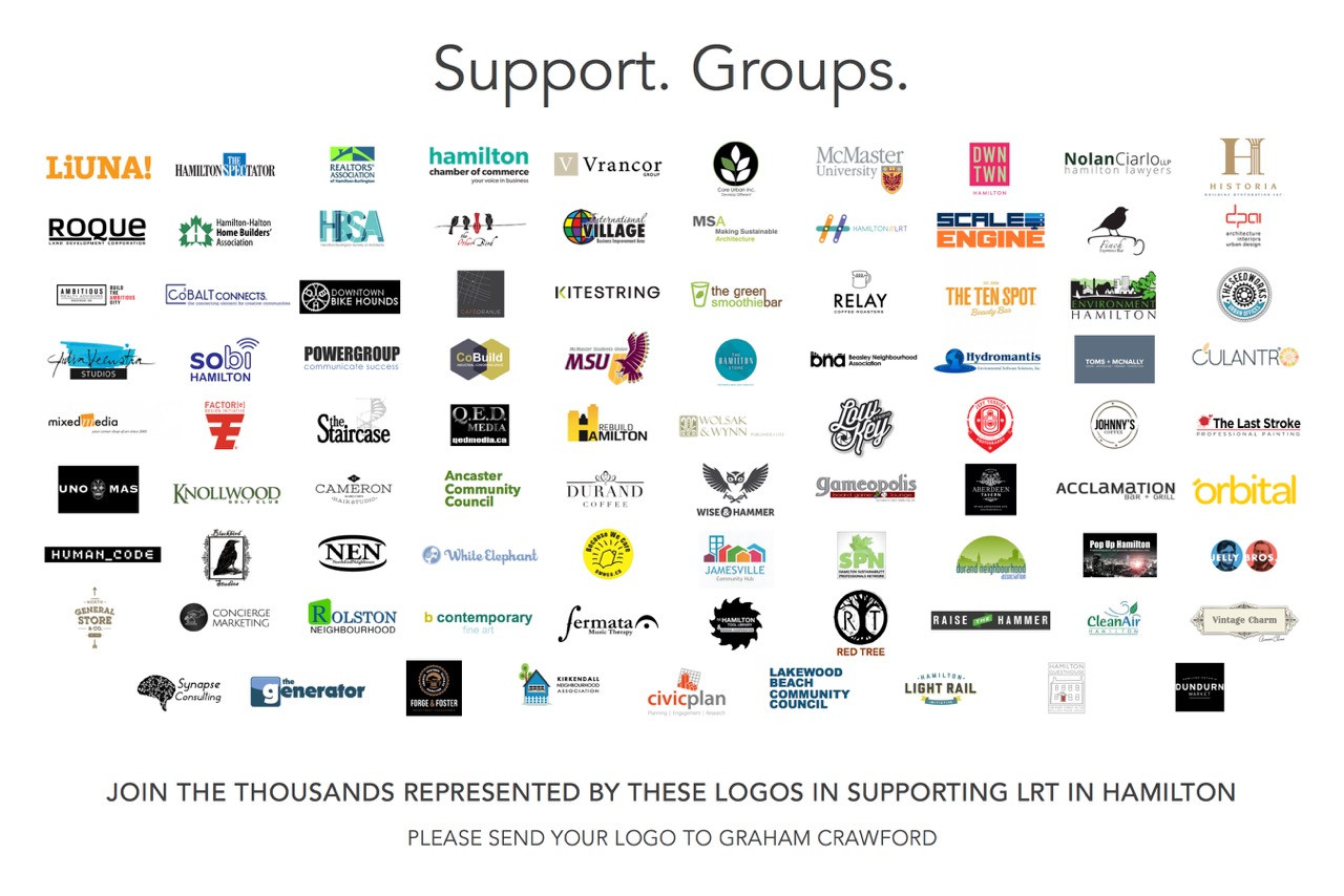 LRT Support Groups, more companies added