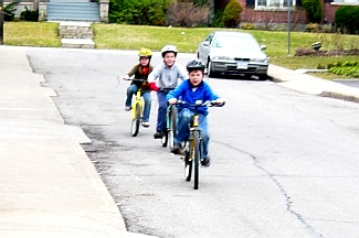 Bicycles are not just children's toys (RTH file photo)