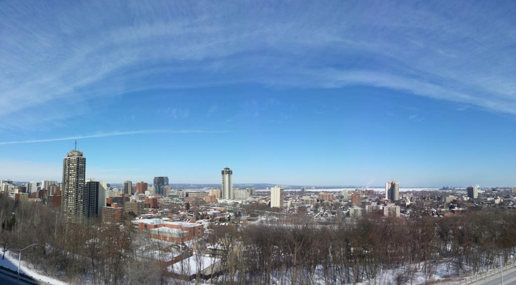 Overlooking downtown Hamilton (RTH file photo)