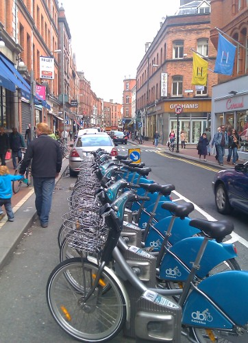 Dublinbikes station (RTH file photo)