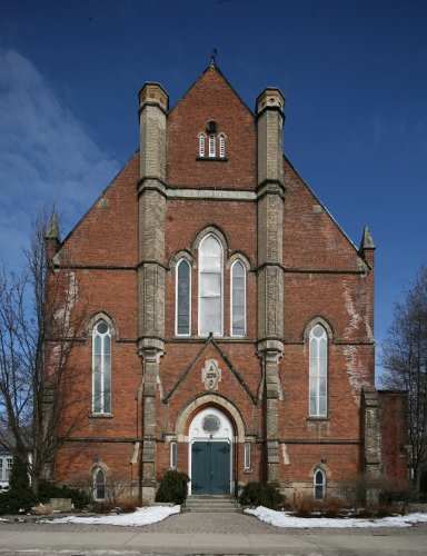 Fig. 2. Dundas, Knox Presbyterian Church, S façade.
