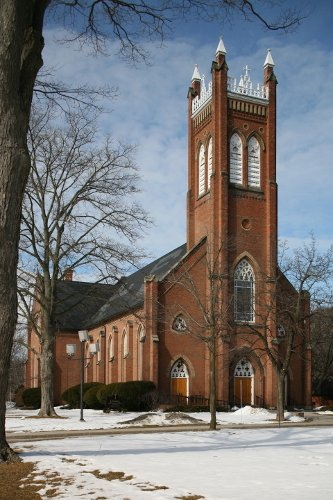 Fig. 1. Dundas, St Augustine's Roman Catholic Church, exterior from SE.