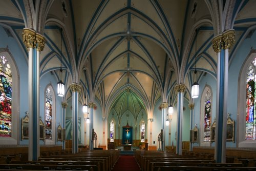 Fig. 3. Dundas, St Augustine's Roman Catholic Church, interior to W.