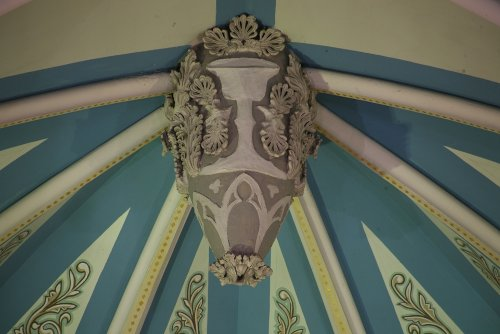 Fig. 8. Dundas, St Augustine's Roman Catholic Church, detail of sanctuary vault boss.