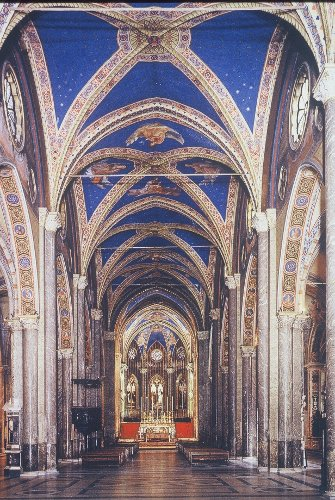 Fig. 11. Rome, Santa Maria sopra Minerva, interior to E.