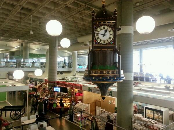Birks Clock, Farmers' Market (RTH file photo)