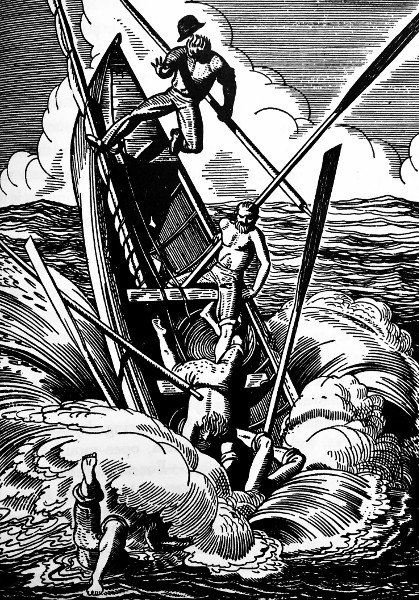 Moby Dick, illustrated by Rockwell Kent, 1930