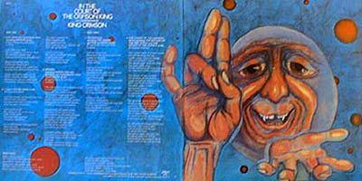 King Crimson: In the Court of the Crimson King (gatefold)