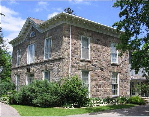 use of fieldstone in southern ontario buildings raise