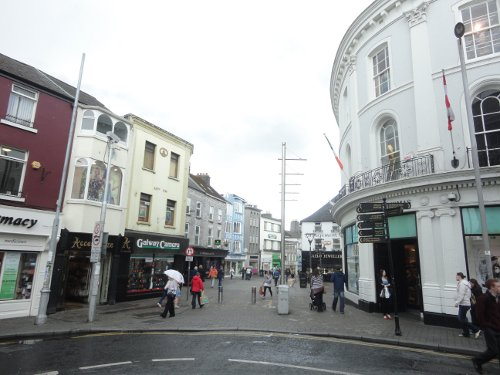 Entrance to Shop Street in Galway City