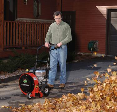 Stop the Insanity! Pictured is a 6 horsepower Snapper brand leafblower which retails for over $500 and weighs over 100 pounds (Image Credit: Snapper)