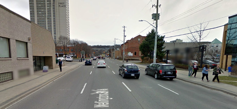 Wellington Street South (Image Credit: Google Street View)