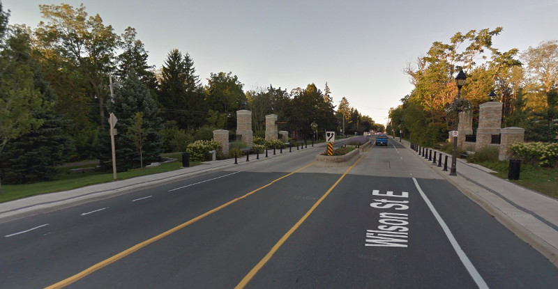 Wilson Street, Ancaster (Image Credit: Google Street View)