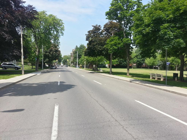 Herkimer Street past Durand Park (RTH file photo)