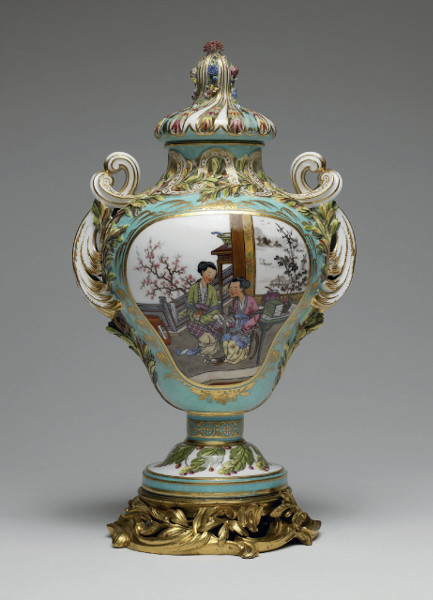 Sevres Porcelain Manufacturing (1762) Overall Height: 11.75