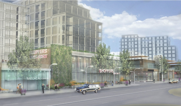 Humbertown proposed redevelopment (Image Credit: Urban Toronto)