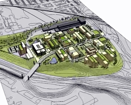 McMaster Innovation Park conceptual drawing