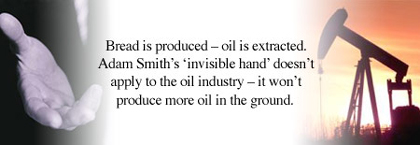 Bread is produced - oil is