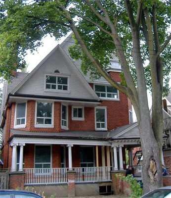 280 Bay South, 1891 Queen Anne style, large porch and large gables