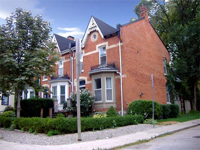 121-125 Markland, 1889-90. Owned by the Balfour family until 1991
