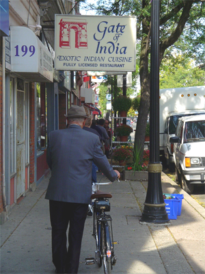 Sustainable transportation on James North: an 'activist' or just a mobile citizen?