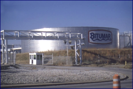 Bitumar's Baltimore plant. Photo Credit: http://www.bitumar.com