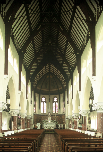 Fig. 7. Kilcullen (Co. Kildare), St Brigid's Roman Catholic Church, interior.