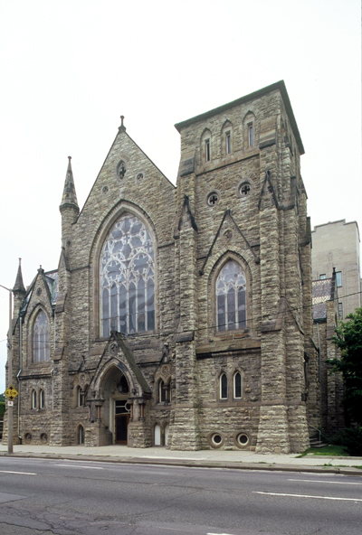 Fig. 9. Hamilton, James Street Baptist Church, façade, Joesph Connolly, 1878-82.