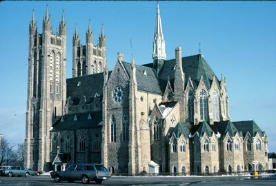 Fig. 13. Guelph, Church of Our Lady, exterior.